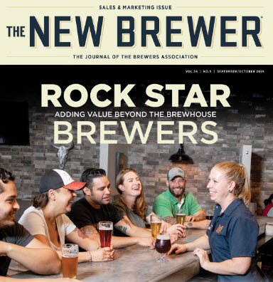 The New Brewer Magazine Sept-Oct 2019 Cover